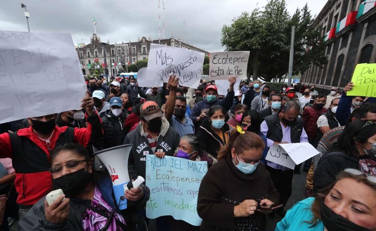 Habitantes de Ecatepec exigen renovación de la red hidráulica