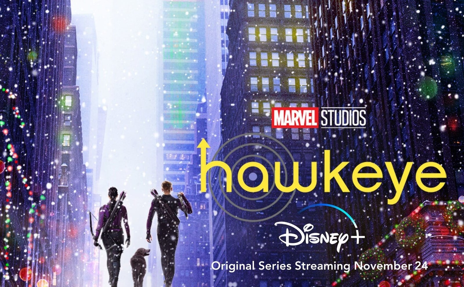 'Regresaré para Navidad': 'Hawkeye' ya tiene su primer tráiler al lado de Kate Bishop