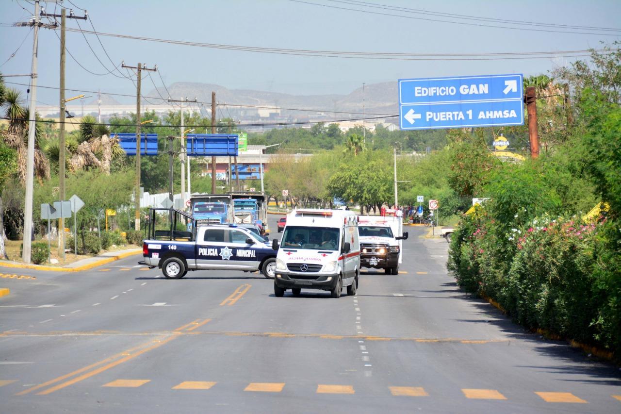 Empresas de Monclova realizan simulacros por el día nacional de Protección Civil