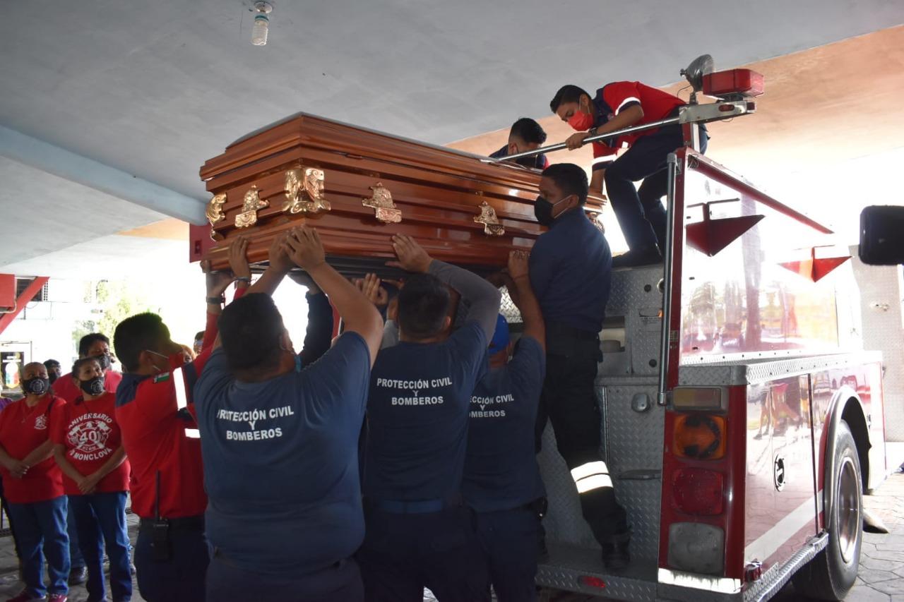 Pionero del cuerpo de bomberos fallece en Monclova