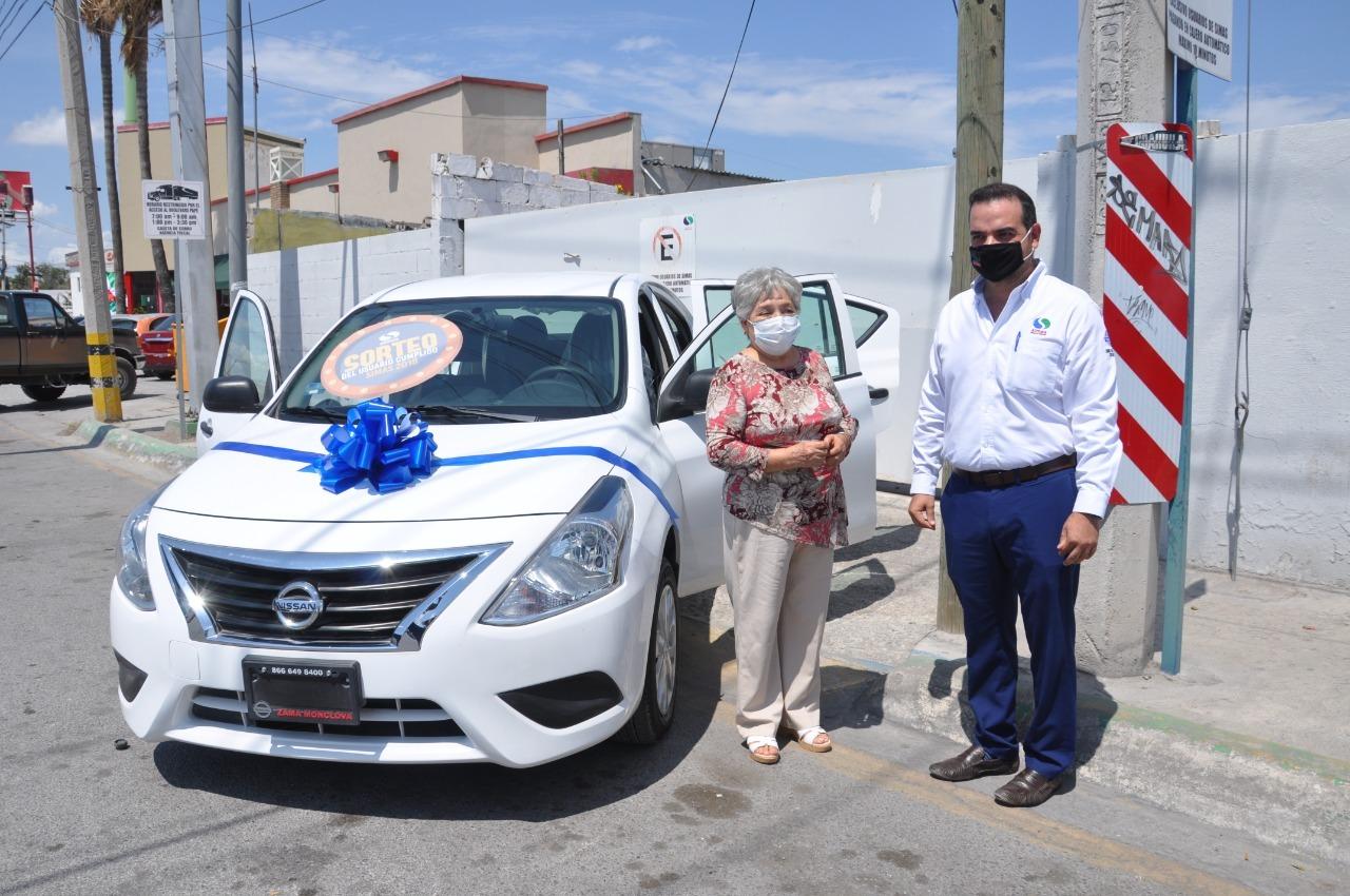 SIMAS de Monclova entrega auto de Usuario Cumplido 2018