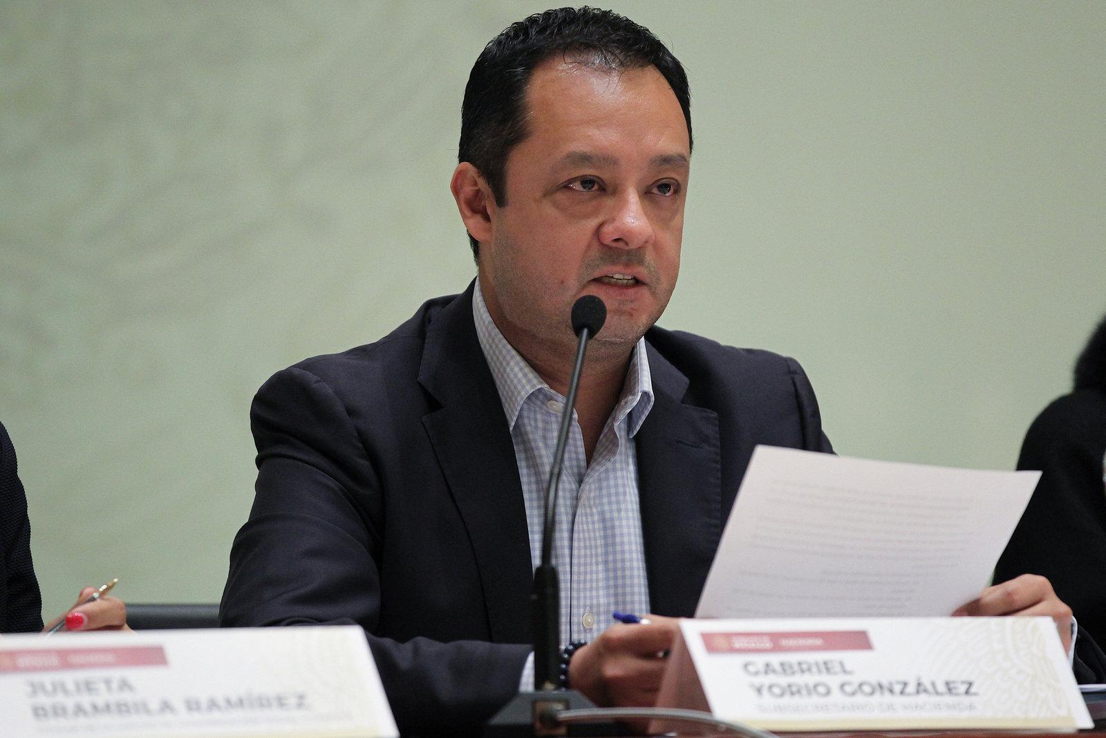 Gabriel Yorio se despide de la Subsecretaría de Hacienda