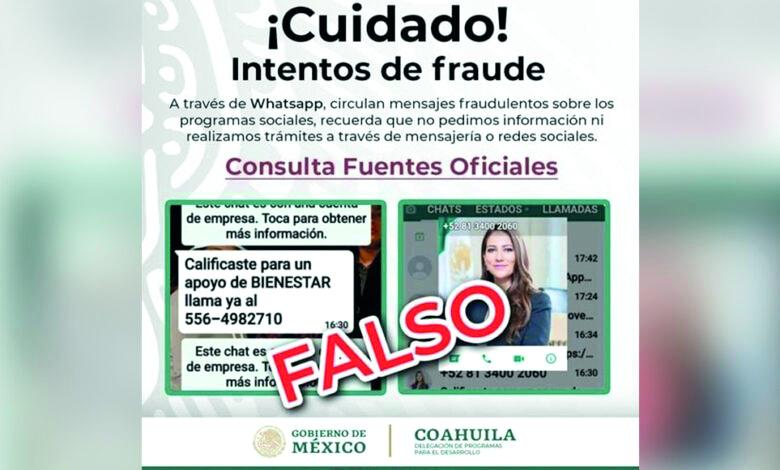 Fraude en trámite de secretaría del Bienestar en la Región Norte