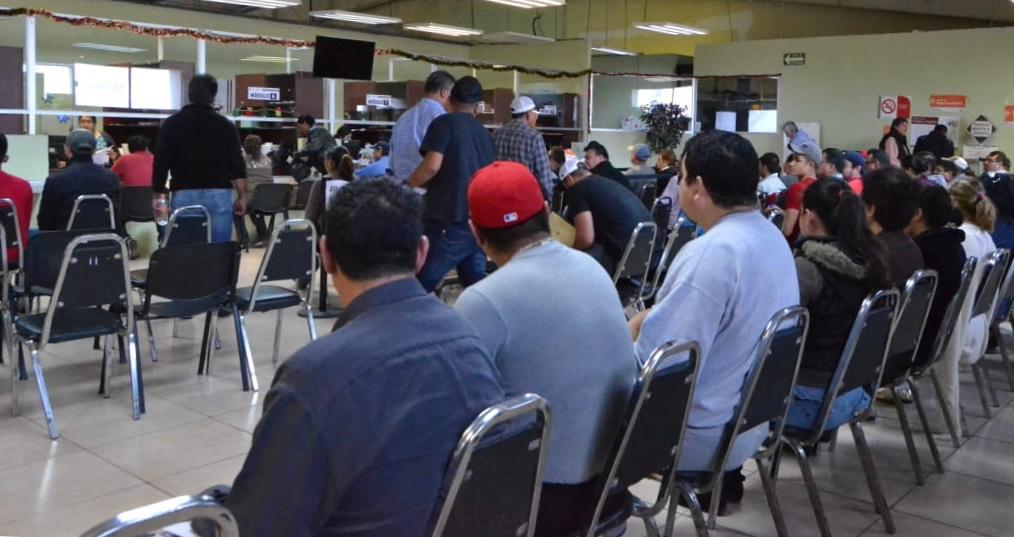 Contribuyentes cumplen con el pago de derechos vehiculares en PN