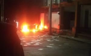 Incendian alcaldía y patrulla en Altamirano, Chiapas, tras ceremonia