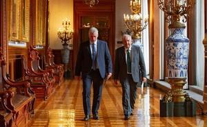 AMLO sostiene encuentro con presidente de Cuba