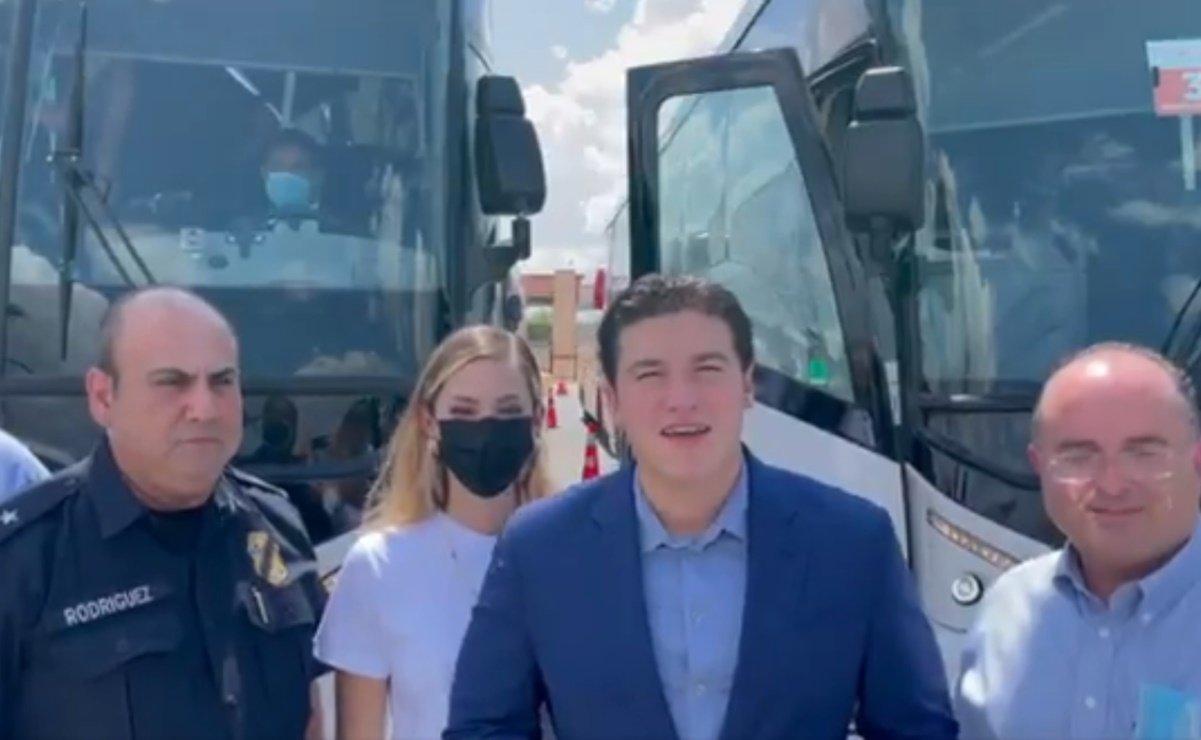 Samuel García anuncia vacunación para menores de Nuevo León en EU
