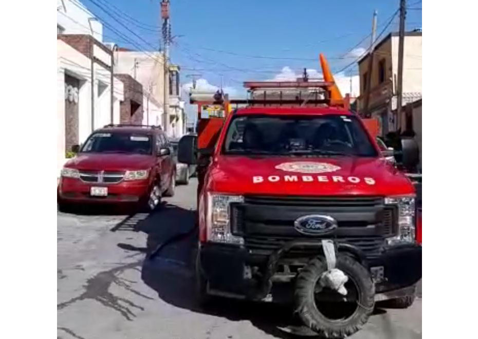 Se incendia tráiler en el Papede Monclova
