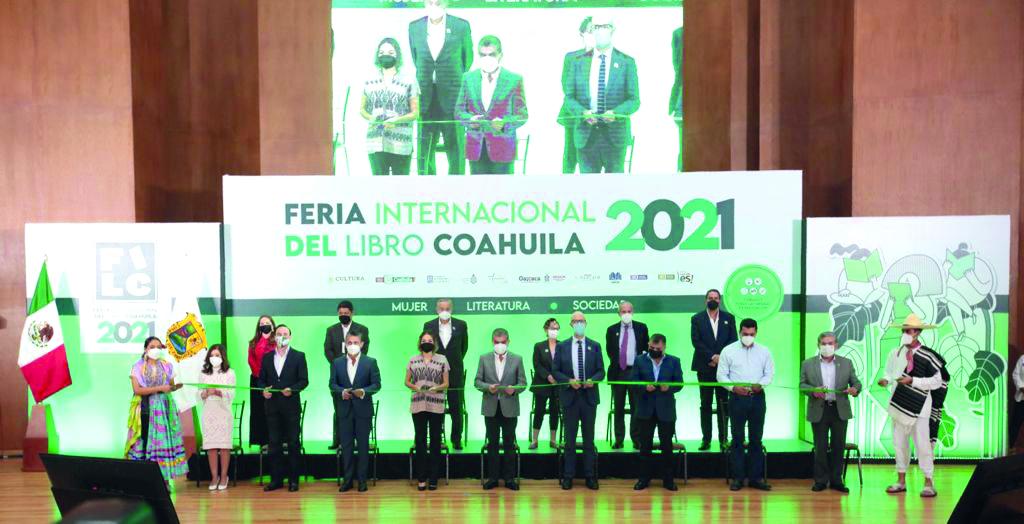 Feria del Libro Coahuila 2021, espacio plural que refleja el sentir de la sociedad
