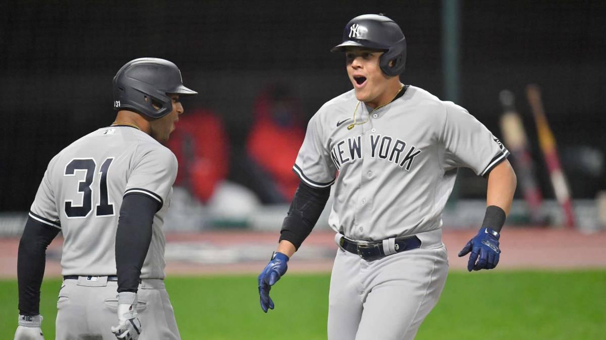 Yankees blanquea a los Indios por 8-0