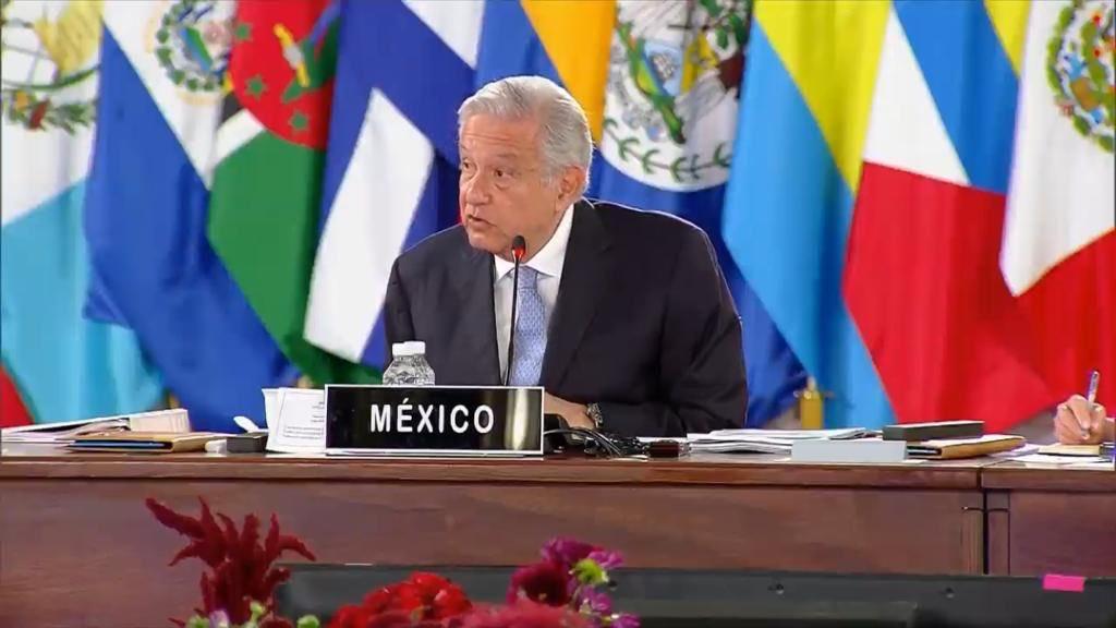 AMLO pide construir algo parecido a la Unión Europea en cumbre de la CELAC