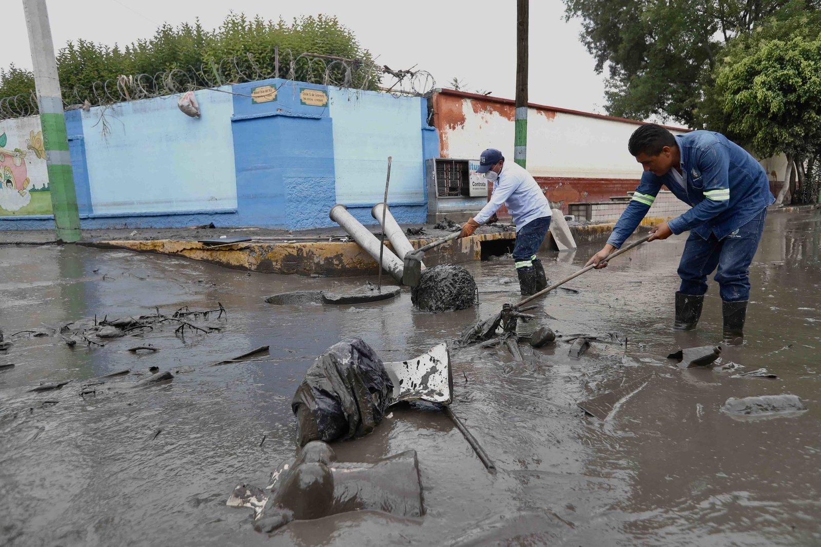 Nuevas inundaciones en Tula alcanzan un metro de altura