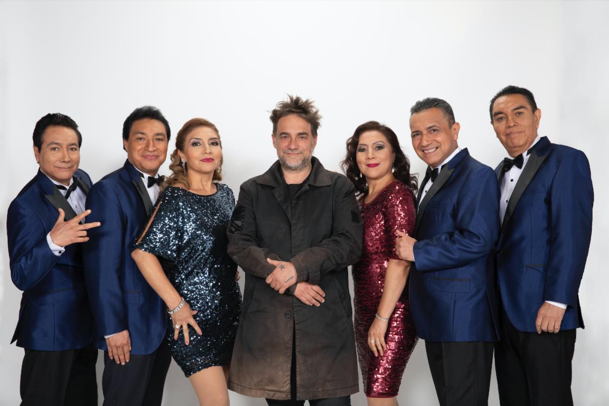 Los Ángeles Azules en CDMX celebrando 40 años de cumbia