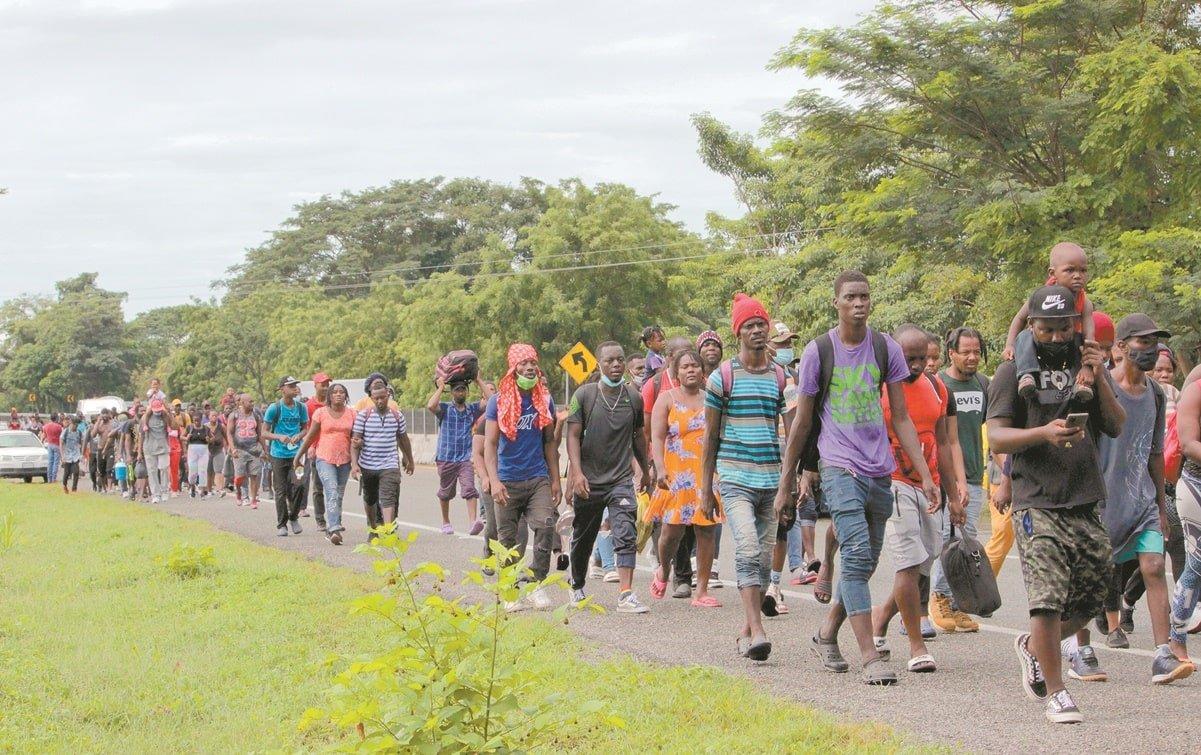 Crean México y Haití mesa de diálogo ante crisis migratoria