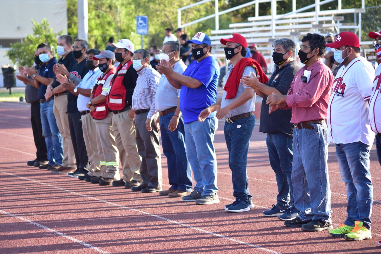 Juegos Deportivos  de CTM en marcha