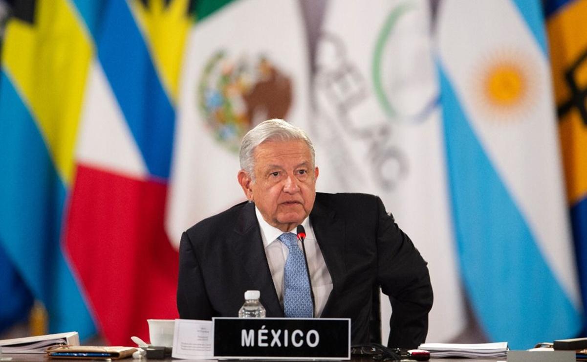AMLO llama a firmar acuerdo comercial y poner fin a bloqueos