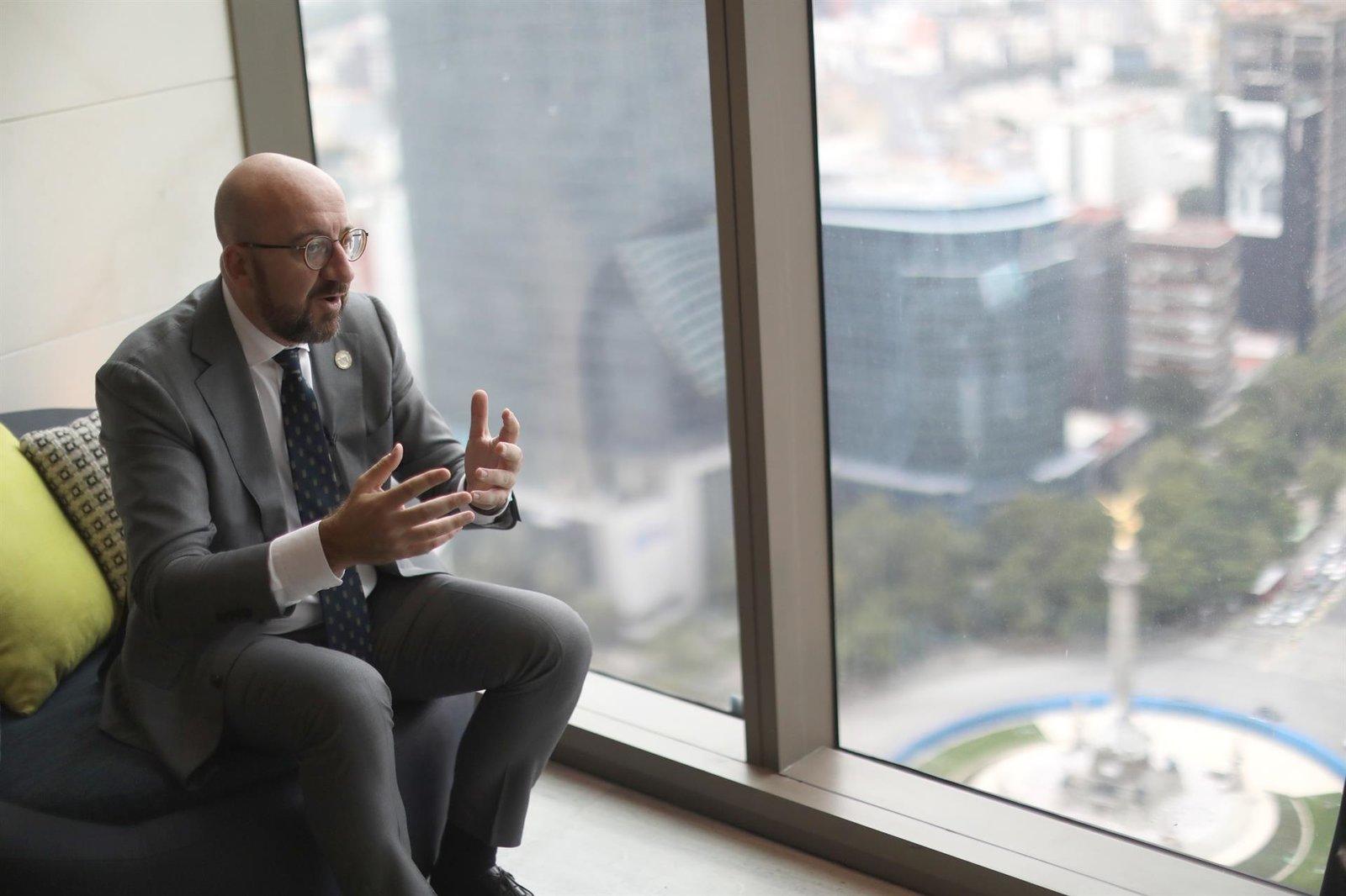 """Charles Michel augura  """"obstáculos y dificultades"""" en integración latinoamericana"""