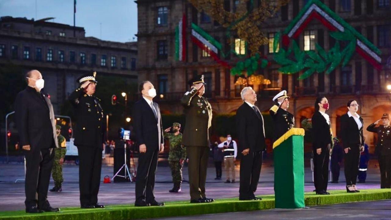 AMLO conmemora sismos de 1985 y 2017 en Ciudad de México