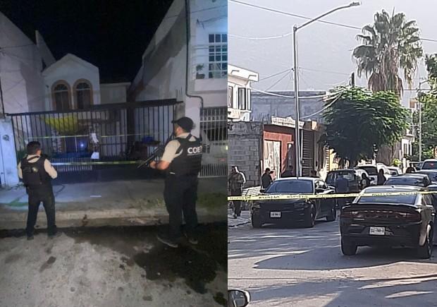 Autoridades realizan dos cateos en casas de Monterrey
