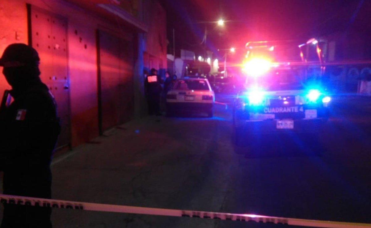 Matan a tiros a dos hombres en calles de Ecatepec