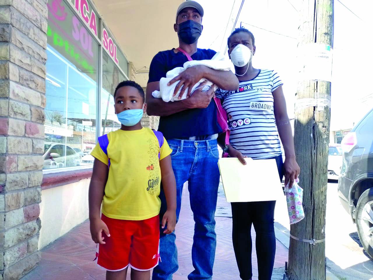 Con el nombre de Naiyara fue registrada en Monclova bebé haitiana