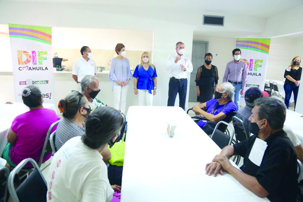 Inaugura Marcela Gorgón Centro Comunitario para adultas mayores en Torreón