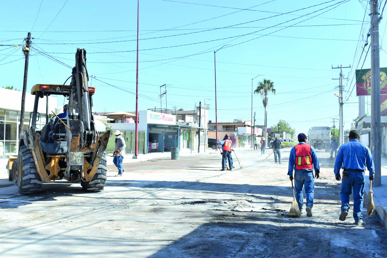 Obra de la calle Madero mejora imagen de la zona comercial