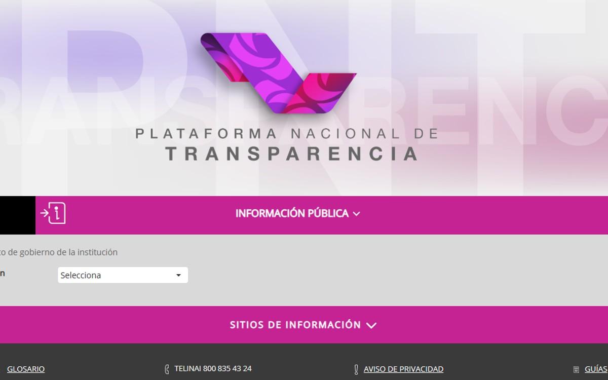 El INAI denuncia hackeo de la Plataforma de Transparencia