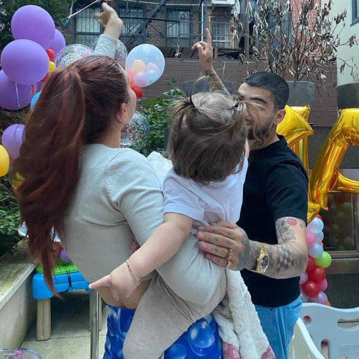 Gigi Hadid y Zayn Malik celebraron el primer cumpleaños de su hija