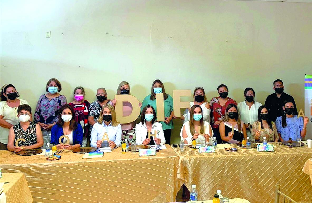 Presidentas del DIF se reúnen en Nadadores