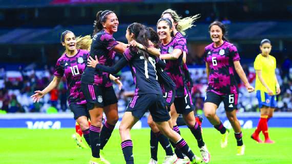Selección Femenil vence a Colombia
