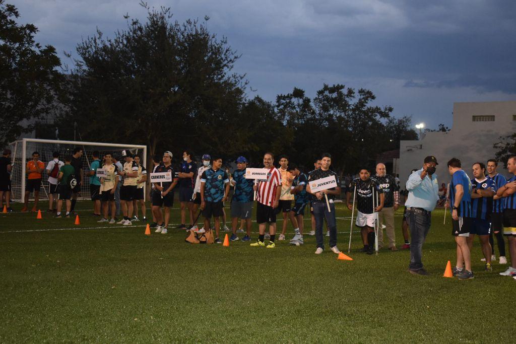 Liga de fútbol Country en marcha