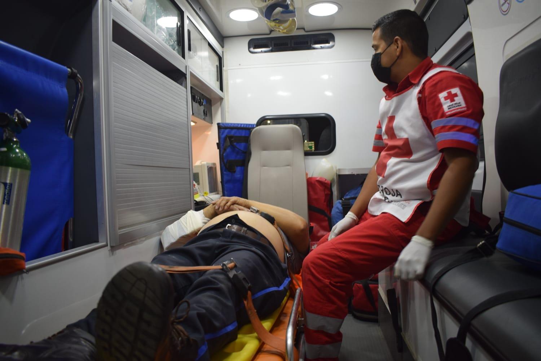Ciclista termina arrollado por vagoneta en Monclova