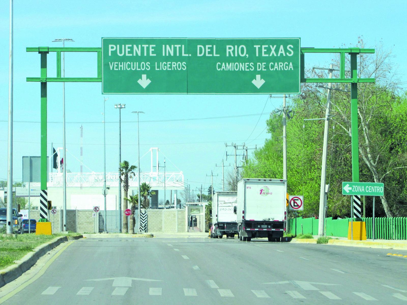 CANACINTRA lamenta el cierre del cruce Acuña-Del Río