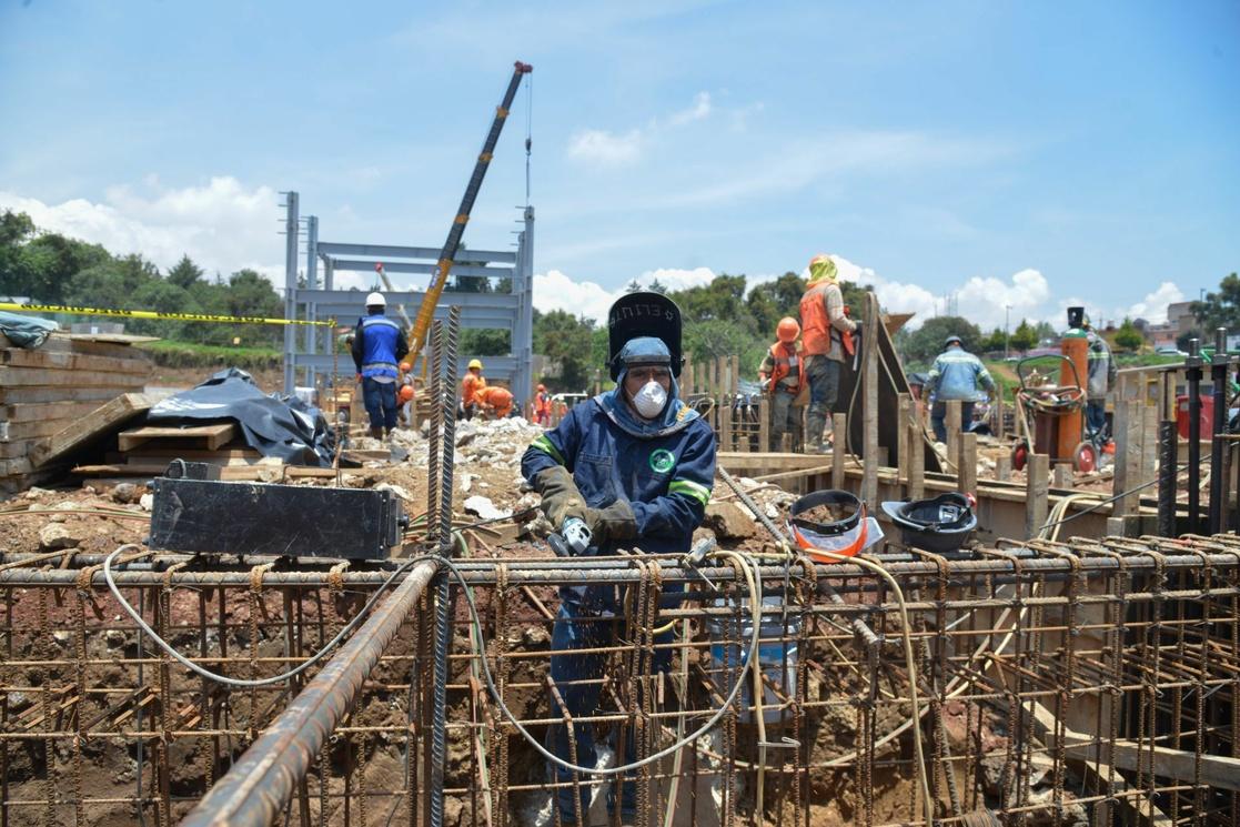 Crece 1.4% producción de empresas constructoras en julio
