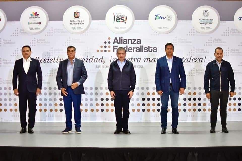 Alianza Federalista abre la puerta a entidades ante próximos cambios de gobierno