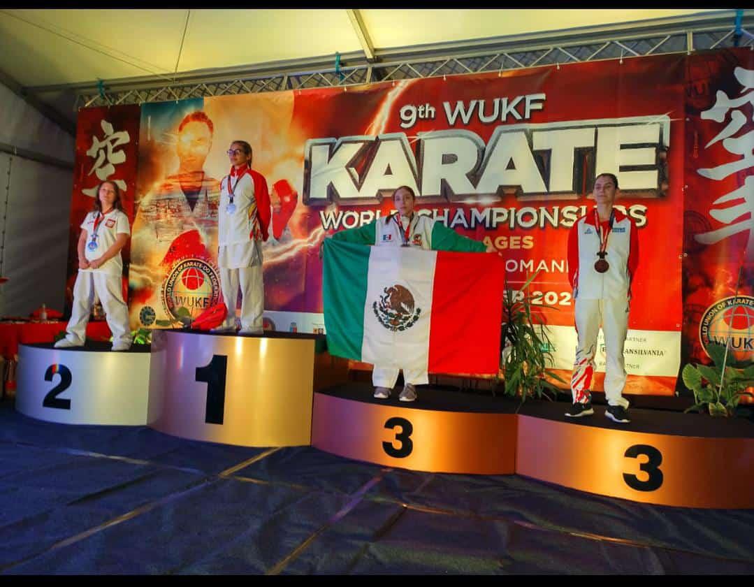 Monclovense logra medalla de bronce en Kumite