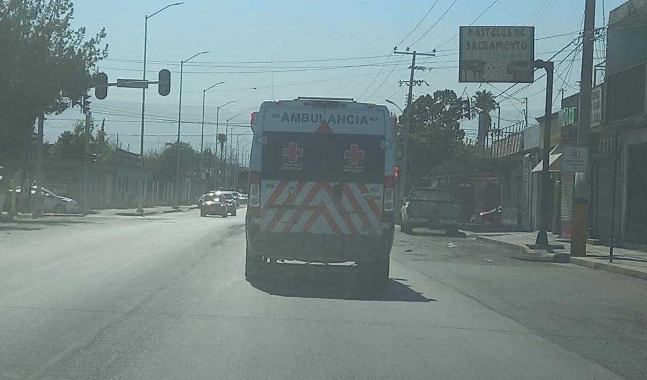 Camioneta arrolla a peatónen Frontera