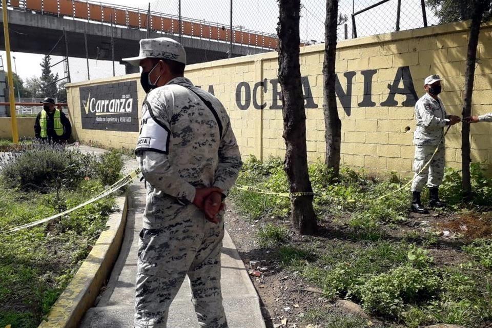 Asesinan a elemento de la Guardia Nacional y a custodio