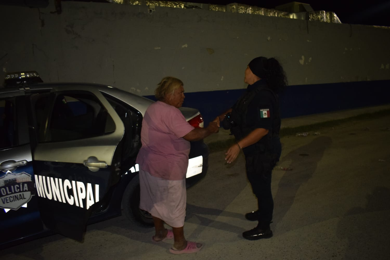 Septuagenaria es detenida por agredir a vecinos en Monclova