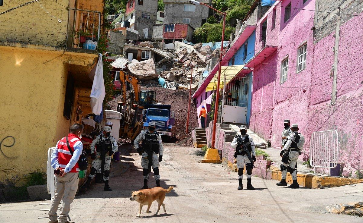 DOF publica declaratoria de emergencia para Tlalnepantla por deslave