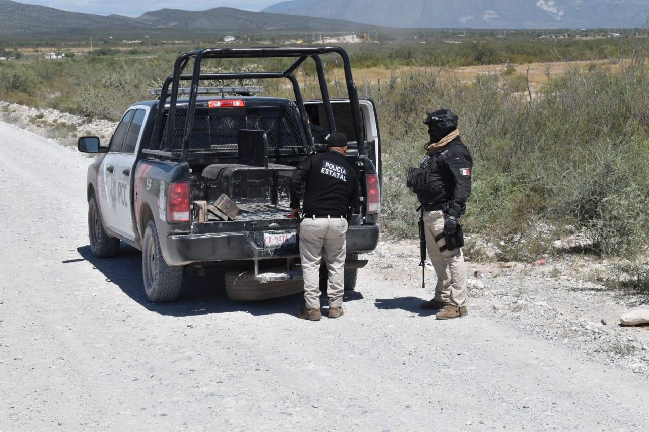 Los elementos de la Policía Civil de Coahuila sufren ponchadura en áreas rurales de Castaños