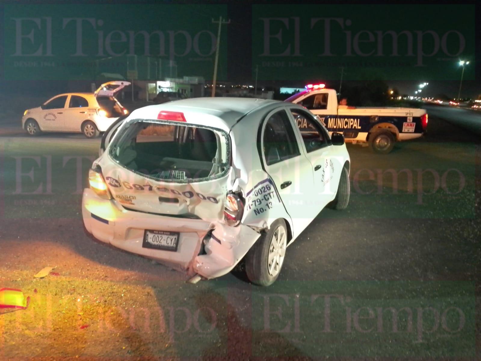 Cuatro personas lesionadas deja fuerte accidente automovilístico en Castaños