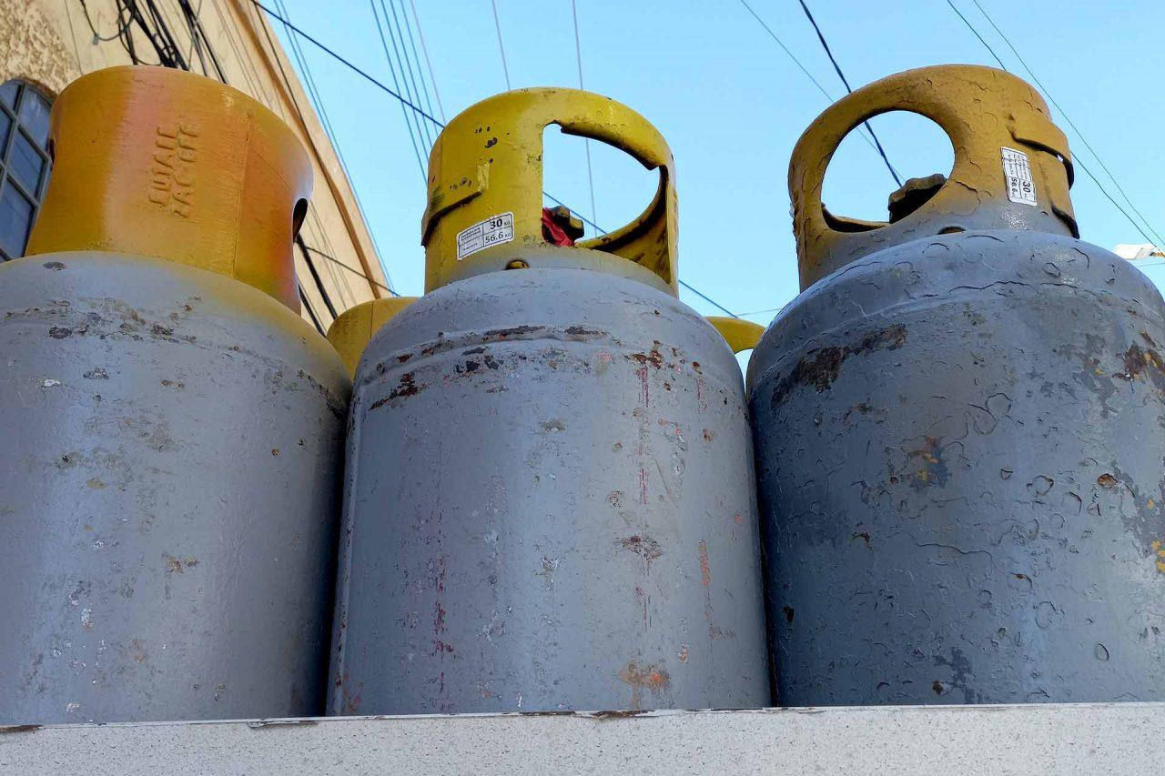 El precio del gas LP registró un aumento de 26 centavos