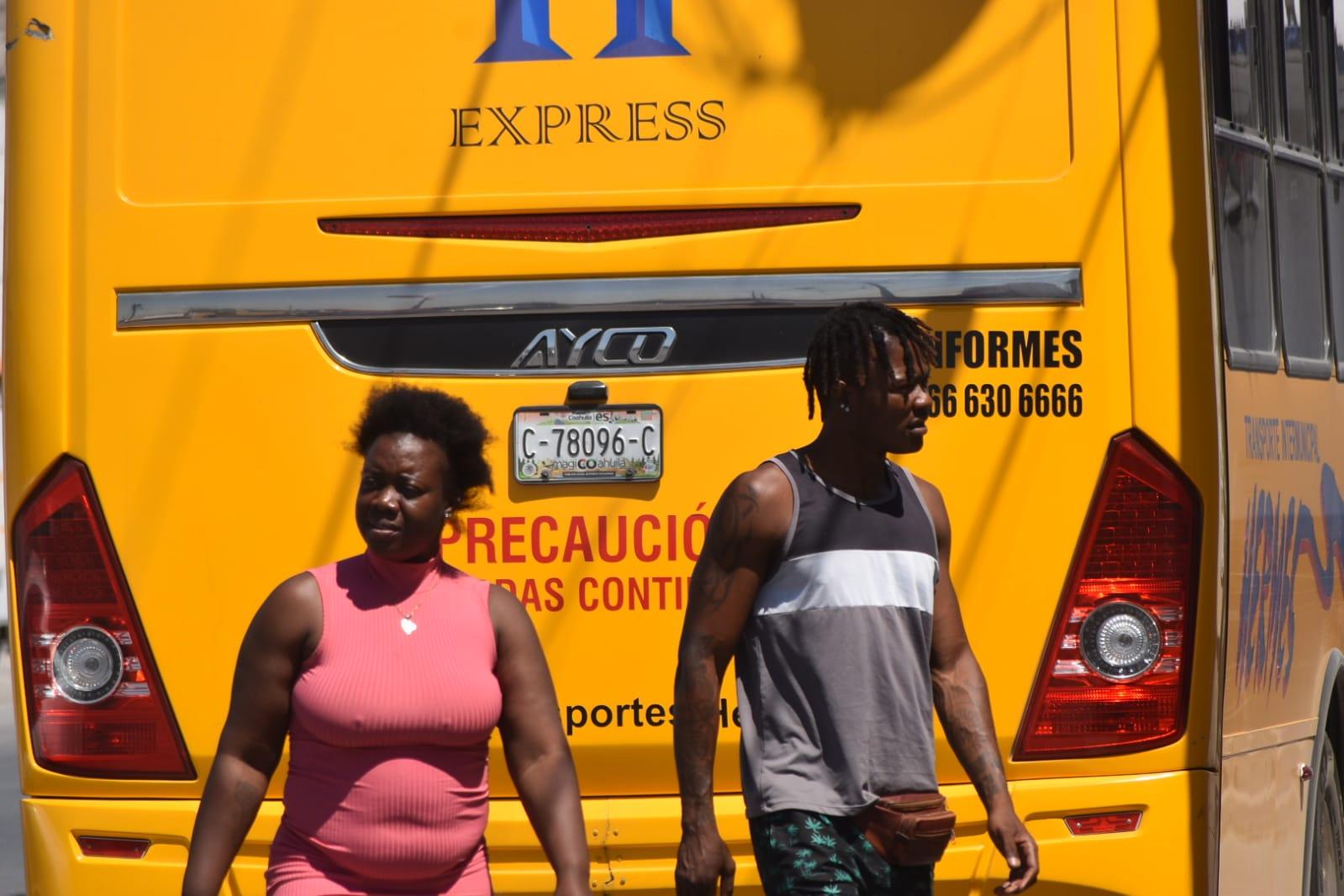 Los haitianos recibirán ayuda en Monclova para regresar a su país