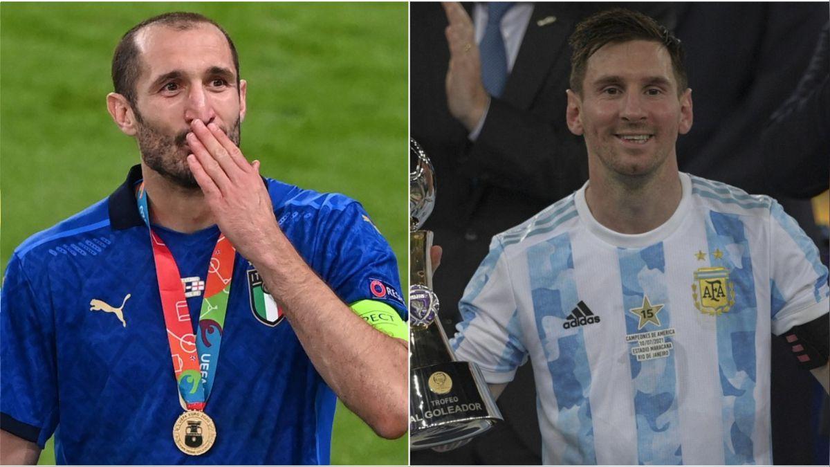 Argentina-Italia: 3 duelos entre los vencedores de Eurocopa y Copa América