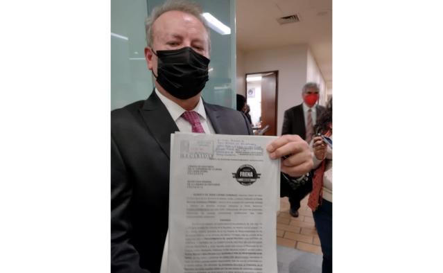 FRENAA ratifica demanda de Juicio Político contra AMLO
