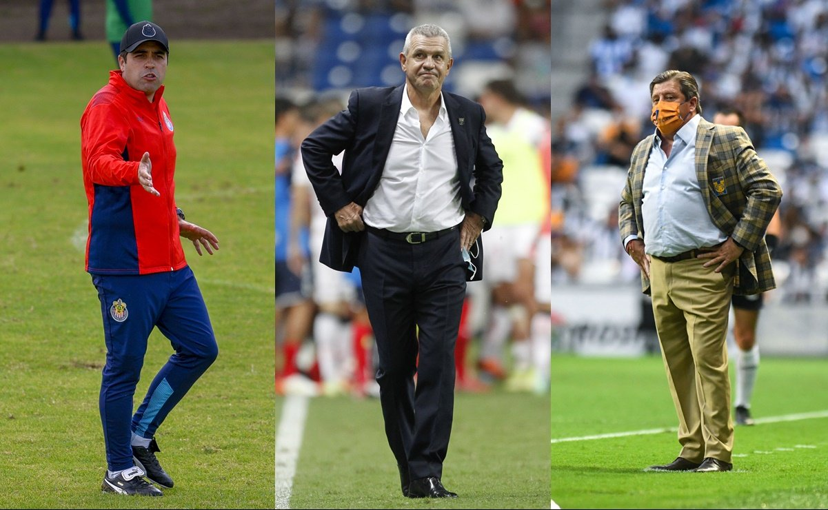 La Liga MX solamente tiene a tres técnicos mexicanos
