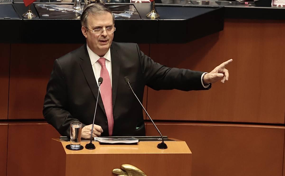 Ebrard condena uso excesivo de fuerza contra migrantes