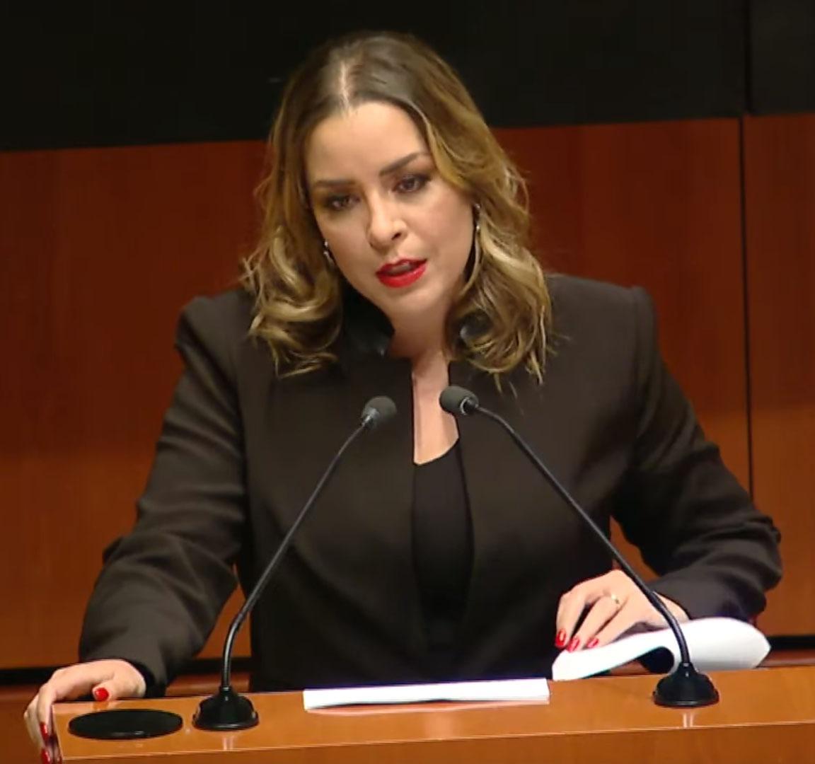 Verónica Martínez es designada como vicepresidenta del Senado